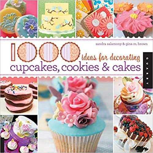 1,000 Ideas for Decorating Cupcakes & Cakes (Kindle Edition. Paperback and Hardcover) by Sandara Salamony and Gina Brown