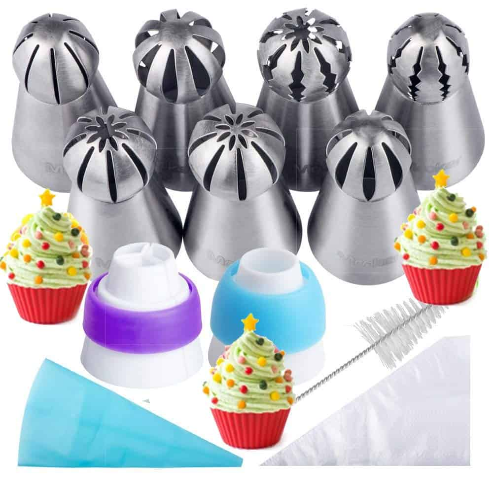 Russian Piping Tips & Baking Set by Mooker