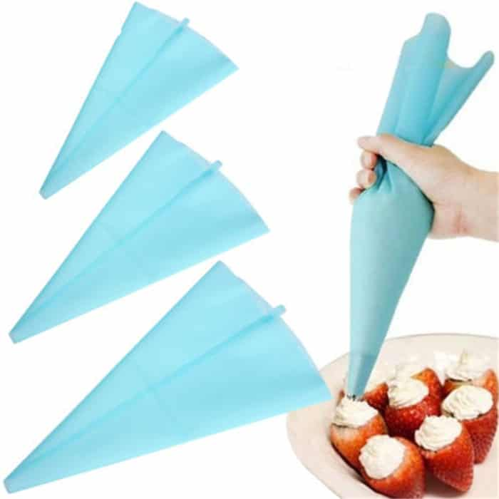 Piping Bag Icing Dispenser (Set of 8)