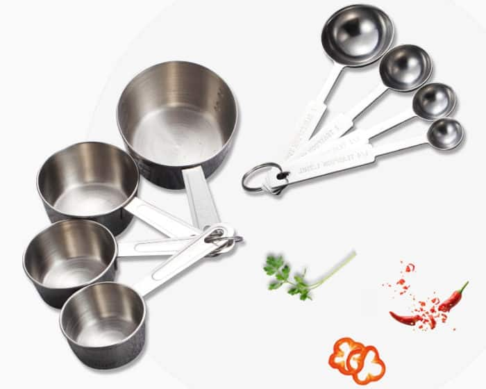 Liquid Measuring Cups And Spoons Set