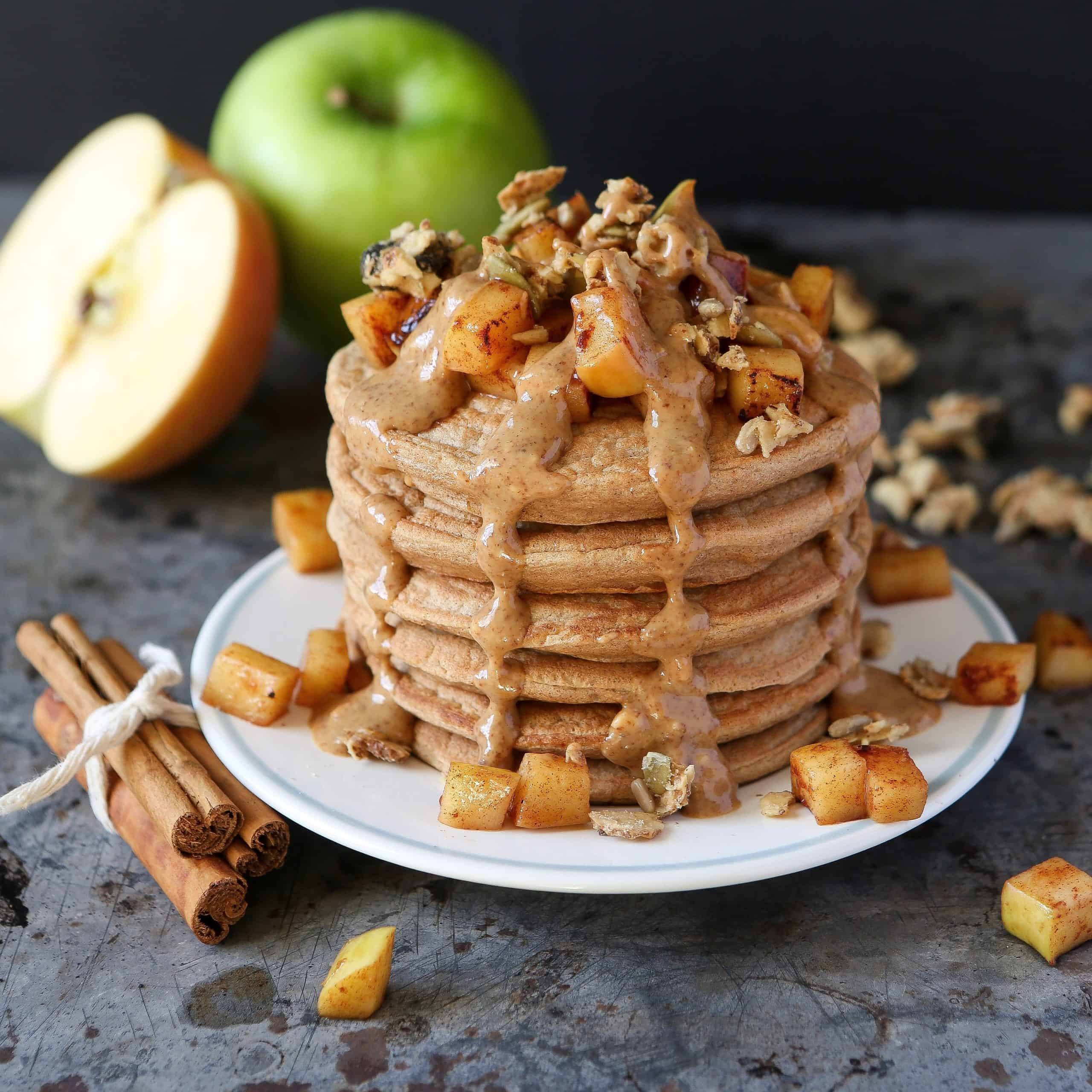 Apple And Cranberry Puffed Pancake Recipe